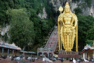 Research (image of Batu Caves)