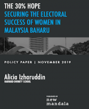 30% Hope: Securing the electoral success of women in Malaysia Baharu